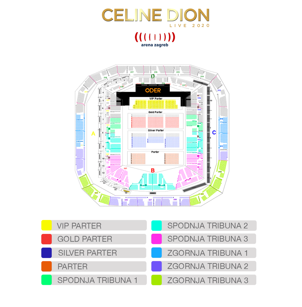 Celine Dion Zagreb 22 05 Aranzma Bfree Koncertibfree Koncerti